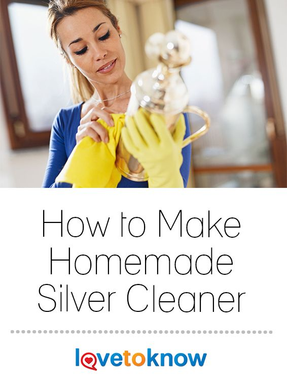 how to clean silver without silver cleaner