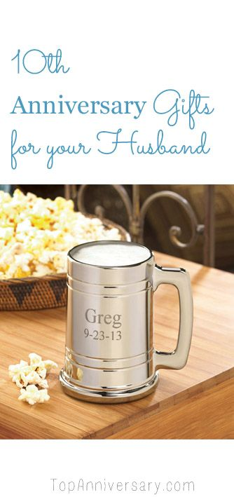 Gift For Husband 10th Wedding Anniversary : ... 10th Anniversary Gifts, Anniversary Gift For Her and Anniversary Gifts