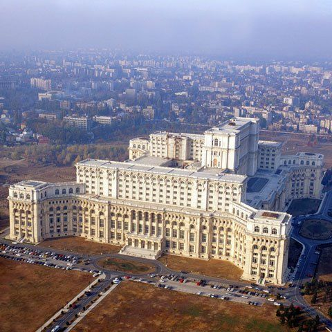 Bucharest - House of Parliament=Casa Poporului