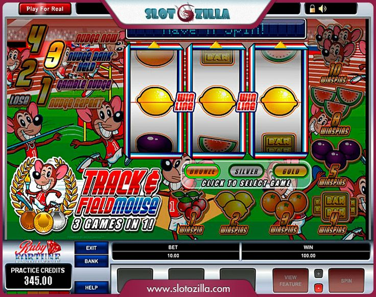 Track And Field Mouse™ Slot Machine Game to Play Free in Microgamings Online Casinos