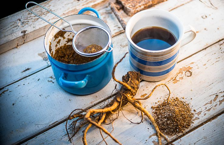 Pampelišková detoxikační káva