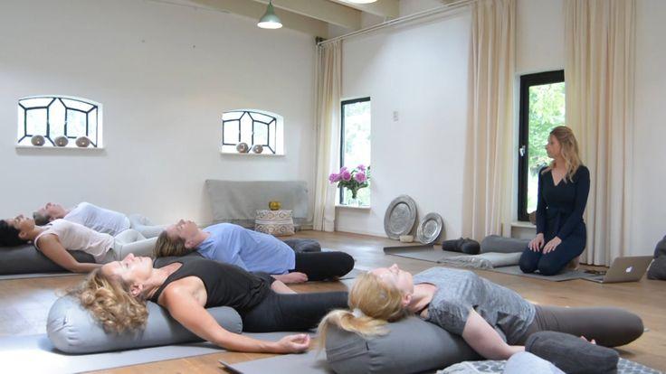 Yin Yoga bij YUNITI www.yunitiyoga.nl