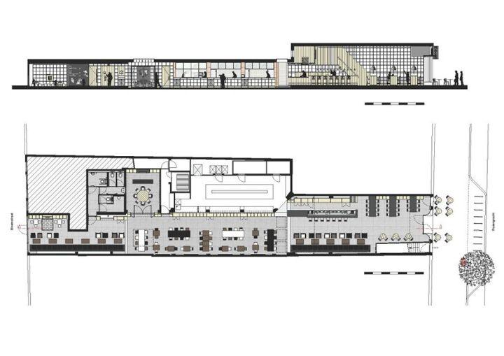 Restaurant Kitchen Floor Plan mazzoconcrete architectural associates » retail design blog