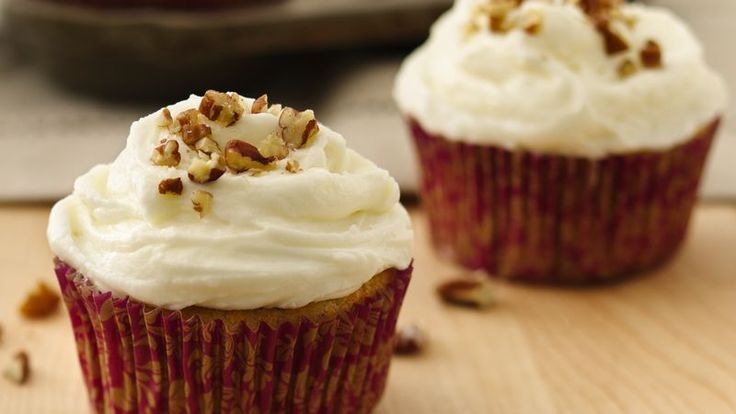 Here's a great way to use some leftover squash—sneak it into these moist and delicious cupcakes, and your family will never know the difference!