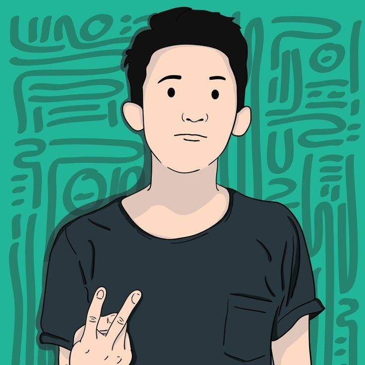 Custom Portrait / Satrio southsideoflena.etsy.com