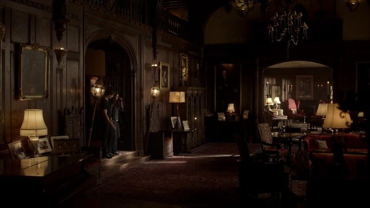 Stefan and damon salvatore house google search vampire for Klaus k living room
