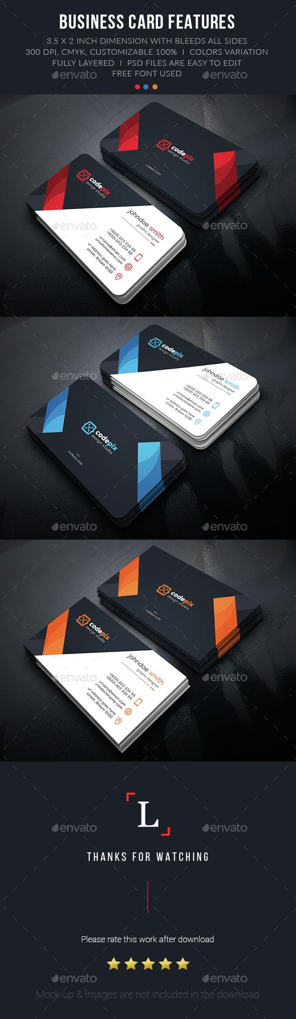 Design Creative Business Card Template PSD. Download here: http://graphicriver.net/item/design-creative-business-card/15208204?ref=ksioks