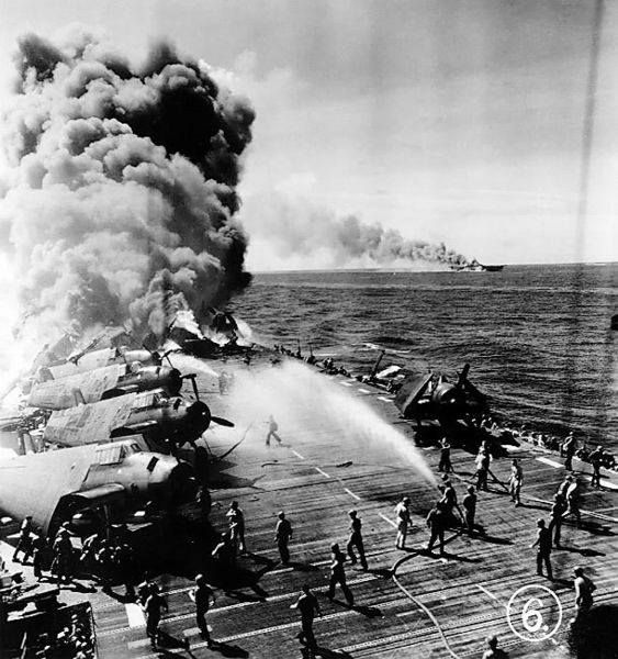 USS Belleau Wood battle of Leyte gulf.