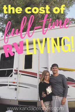 The cost of full-time RV Living! Let me break it down a bit! #rvliving #rvfulltime #rvlife