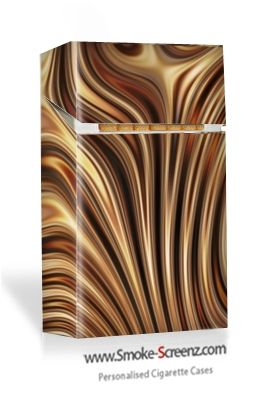 Chocolate Twirl designed cigarette case - almost looks good enough to eat!