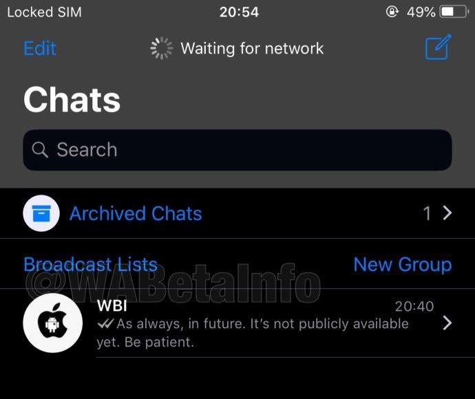 Whatsapp Fur Ios So Sieht Der Neue Dark Mode Aus Ios Neue Wege Mode