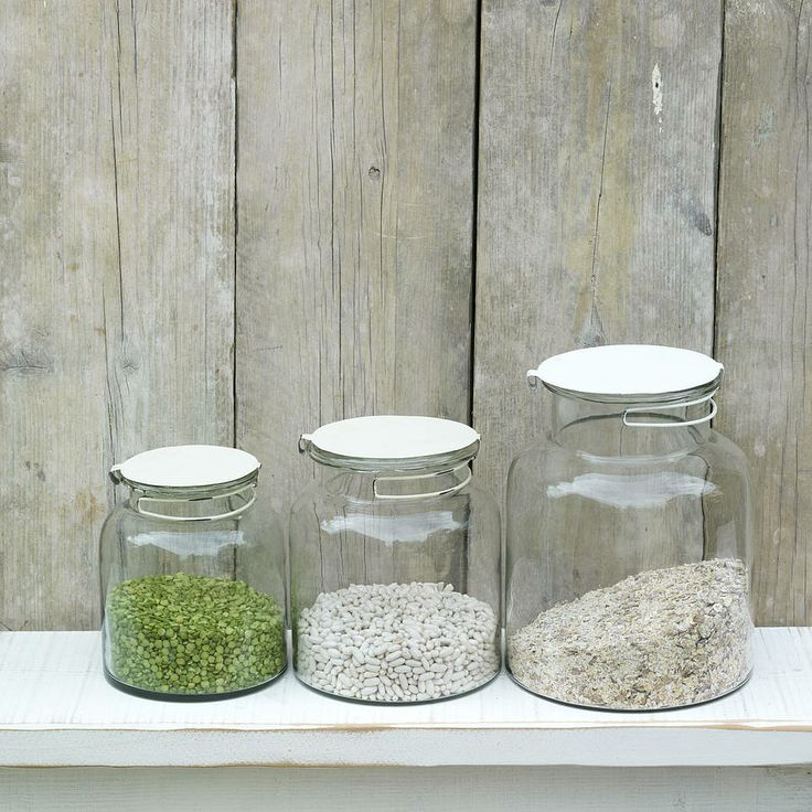 Recycled Glass Storage Jar from notonthehighstreet.com
