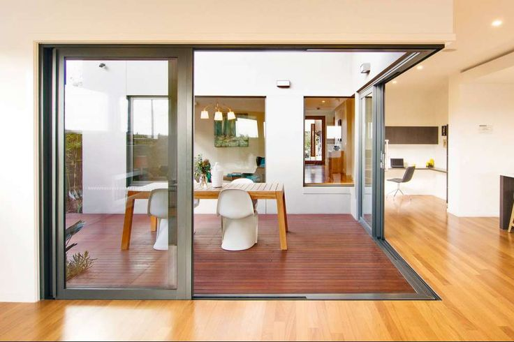 Simple, stylish and durable - cavity sliding doors.
