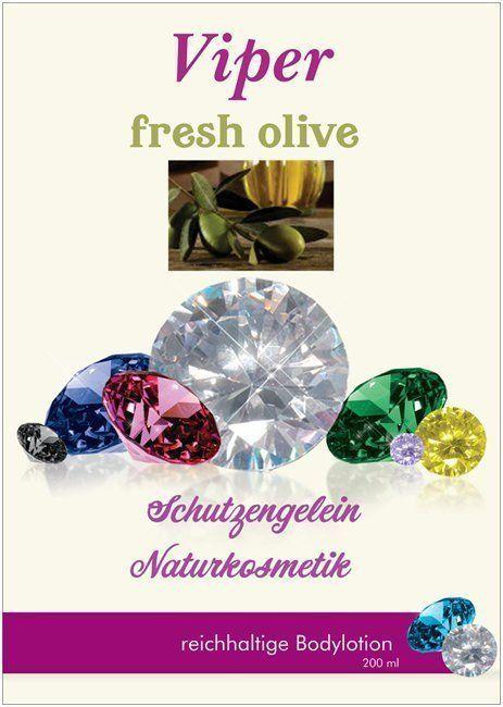 Viper fresh olive Bodylotion für trockene Haut, parfümiert