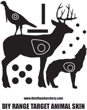 DIY Range Target Skins (1 Animal 1 TicTacToe)