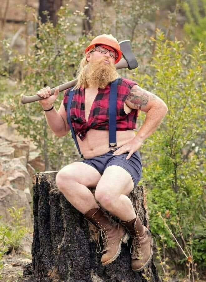 Lumberjack naked