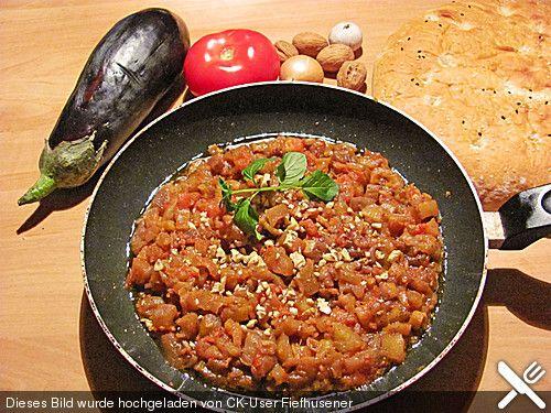 Auberginen - Granatapfel - Mus Persisch