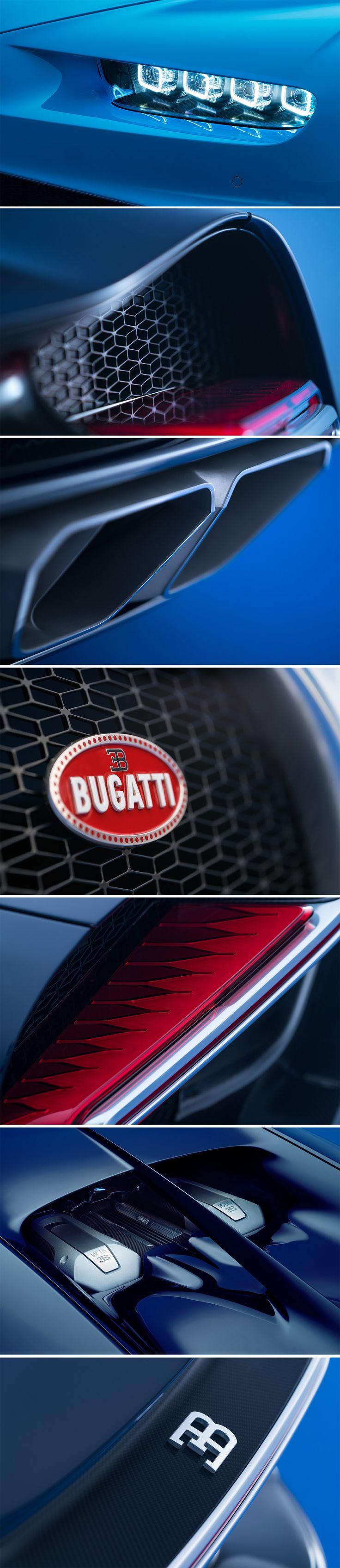 Bugatti Chiron, Exterior Details #Bugatti #Chiron