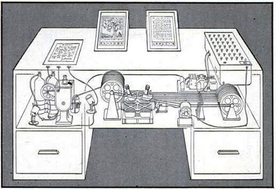 Vannevar Bush's Memex by LIFE illustrator.jpg