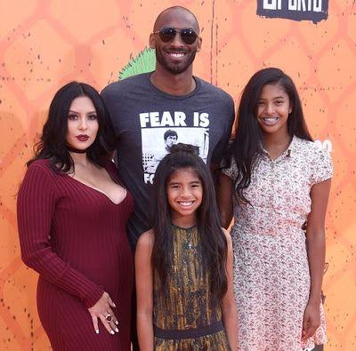 Kobe Bryant and wife, Vanessa welcome their third child
