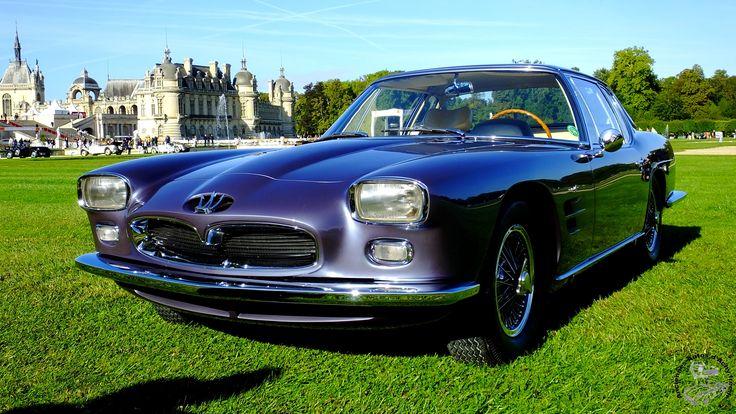 Maserati 5000 GT 1962.Chantilly Arts et Elegance