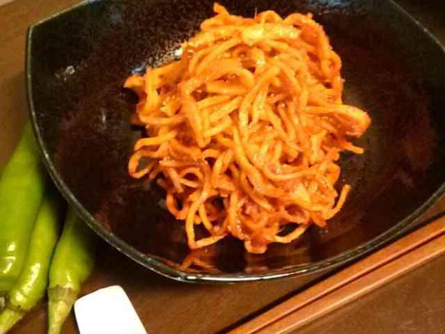 韓国料理★ごはん泥棒スルメコチュジャンの画像