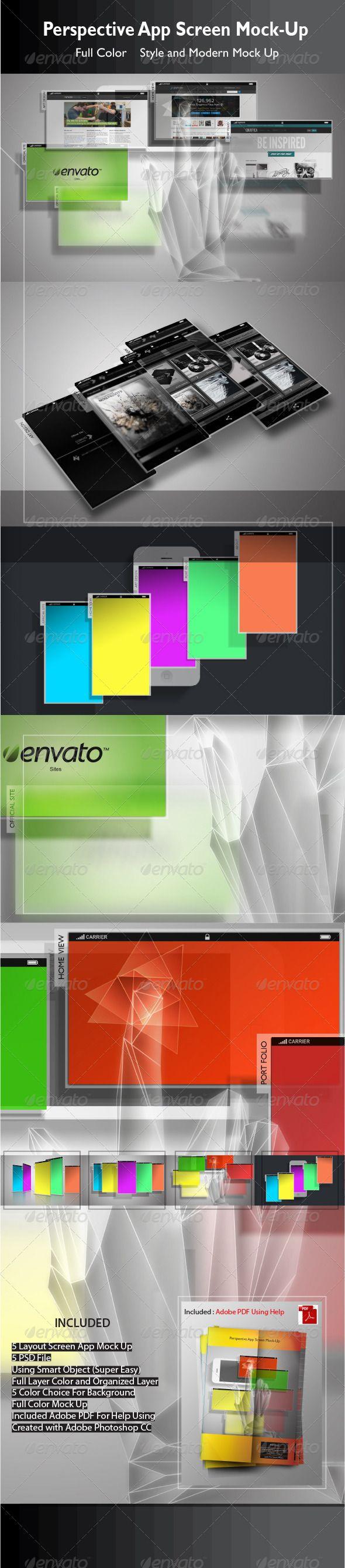 Perspective App Screen Mock-Up