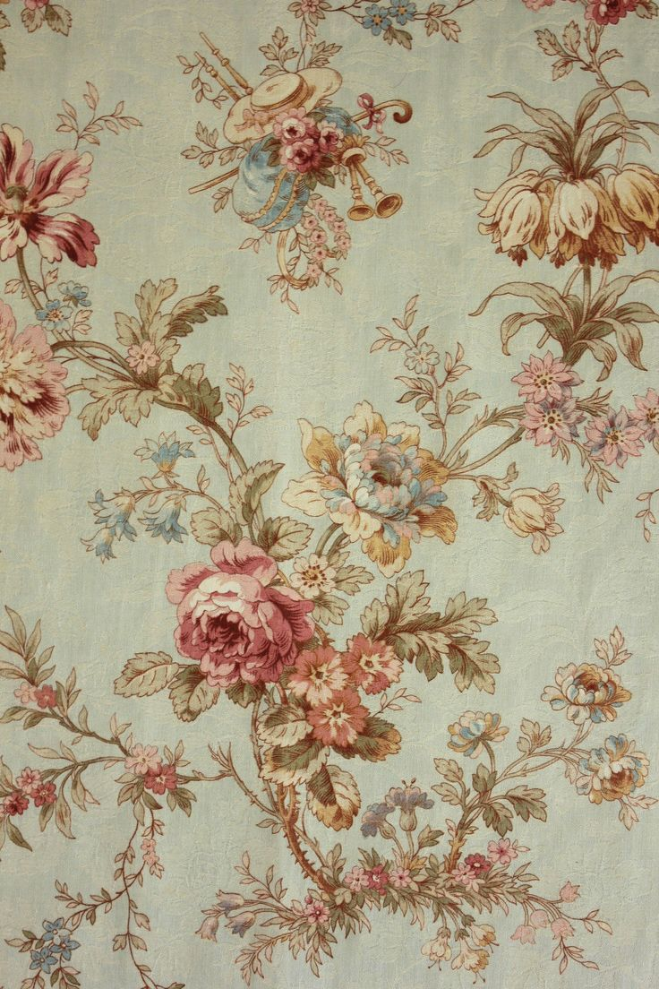 366 best images about patterns and prints on pinterest for Victorian floral fabric