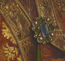 ghent altarpiece detail   of digital macrophotographs showing detail from the Ghent Altarpiece ...
