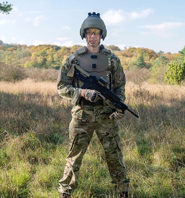 Future Soldier Vision shows what the British soldier of the next decade may look like