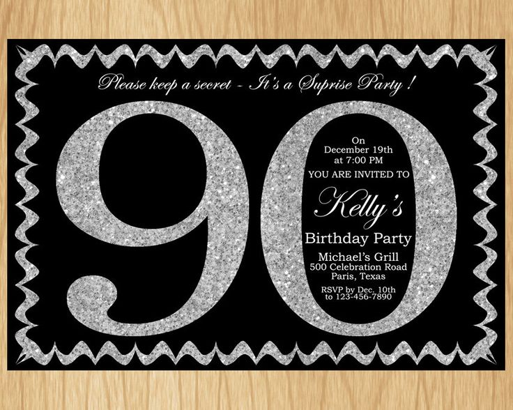 best 25+ 90th birthday invitations ideas only on pinterest | 80th, Birthday invitations