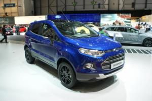 Ford EcoSport facelift at 2015 Geneva Motor Show is scheduled to go on sale in June