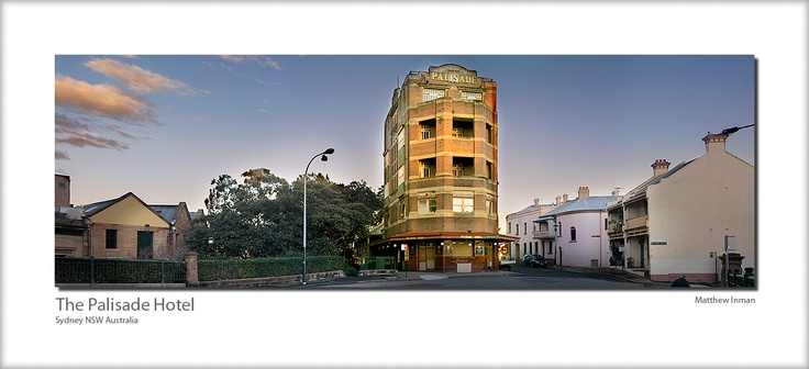 The Palisade Hotel as it looks now, unfortunately closed for several years now.