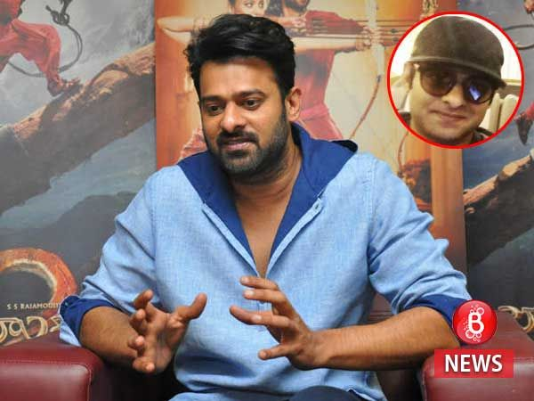 Prabhas looks nothing like Amarendra Baahubali in real life and this latest picture is proof