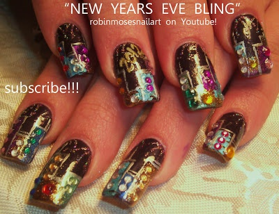 17 best images about happy new year nail designs on