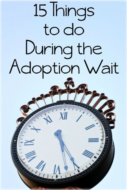 15 Things to do during the Adoption wait