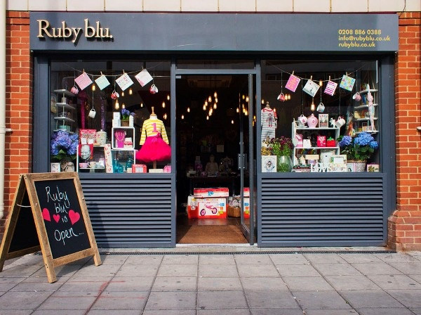 The Ruby blu store in Southgate