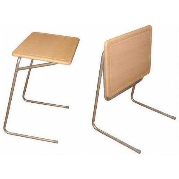 Складные столы.Стол для ноутбука М142.42-компактная разборная модель стола.Откидная столешница выполнена из МДФ,каркас металлический.Может использоваться и как придиванный столик.Разнообразные цветовые решения.Стол имеет разборную конструкцию.Цвет каркаса только металлик.Габариты