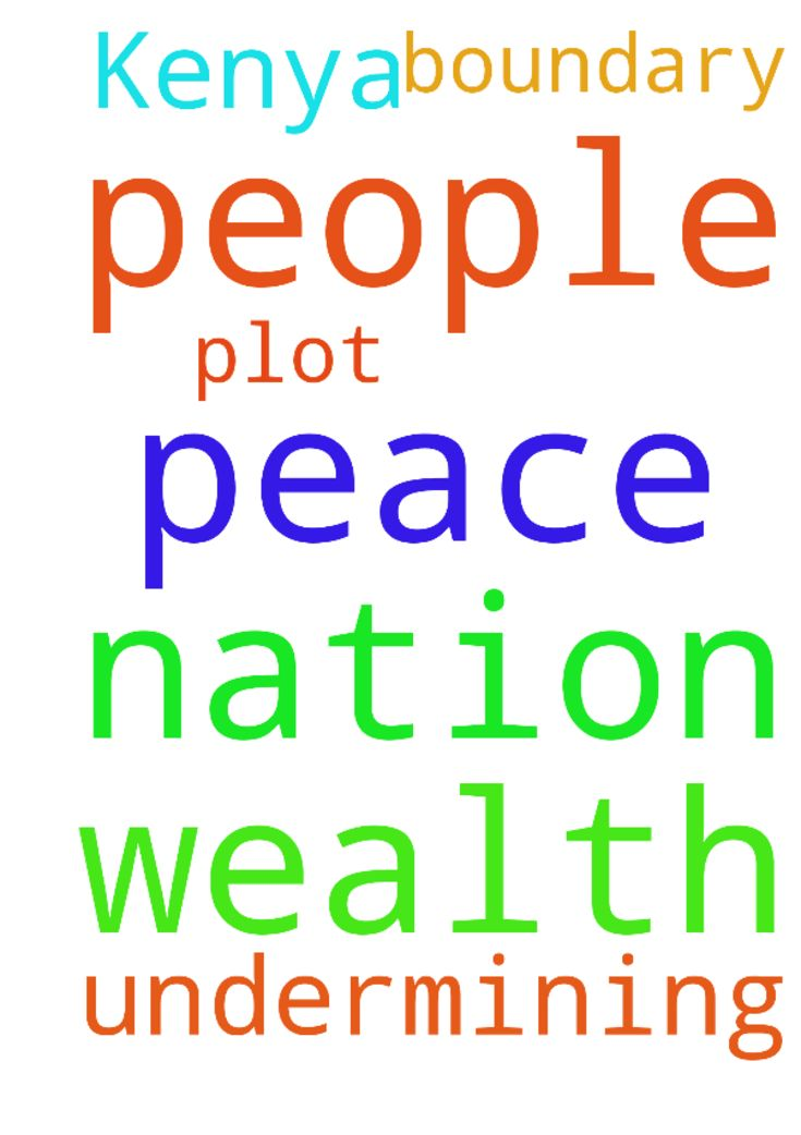 peace in our nation Kenya wealth people undermining - peace in our nation Kenya wealth people undermining me over boundary of my plot Posted at: https://prayerrequest.com/t/3jr #pray #prayer #request #prayerrequest
