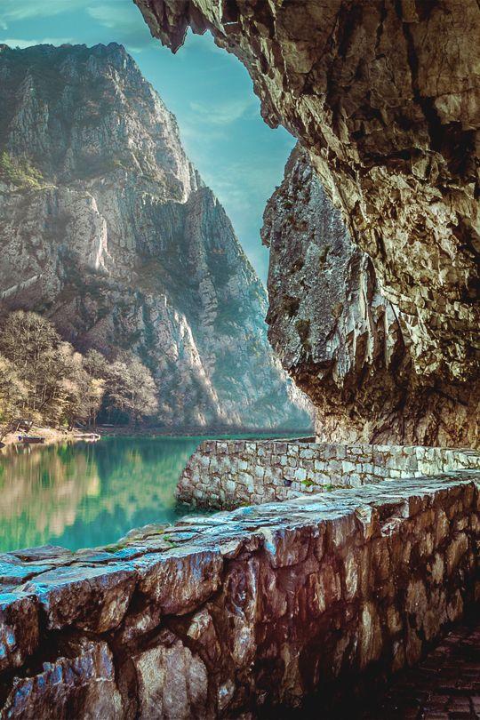 Canyon Motka, Skopje by Betim Berisha