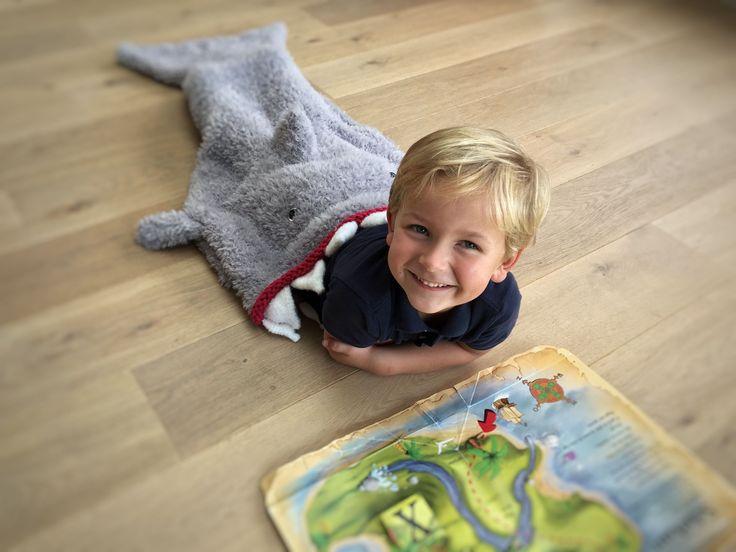 Harry de harige haai - GRATIS patroon