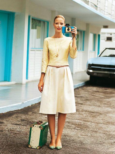 Kleid - Zwei-Teile-Look