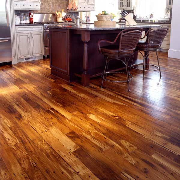 Refinished Maple Hardwood Floors