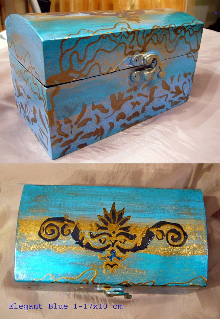 "Box""Elegant Blue 1"""