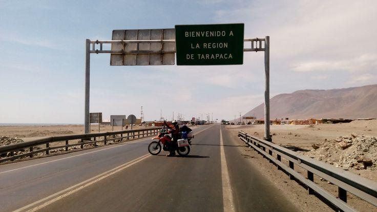 Aduana El Loa, entrando a la I región de Tarapacá