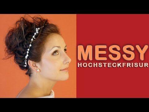 Einfache Alltag Frisur • Hochsteckfrisur mit Zöpfe für kurze Haare • Haar Tutorial
