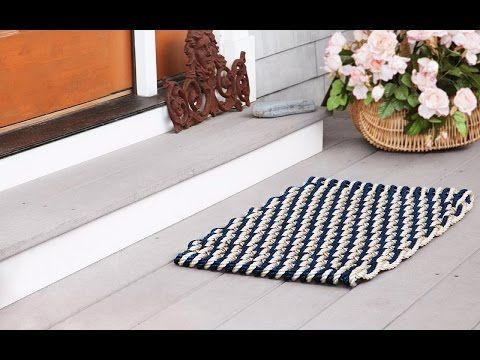 The Rope Co. - Nautical Door Mats nautical door mat gift for e & t?
