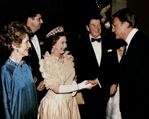Ronald And Nancy Reagan Invited Billy To Meet With Queen