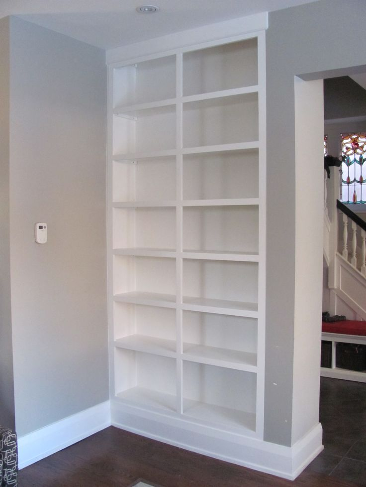 9ft  Built-In Bookcase
