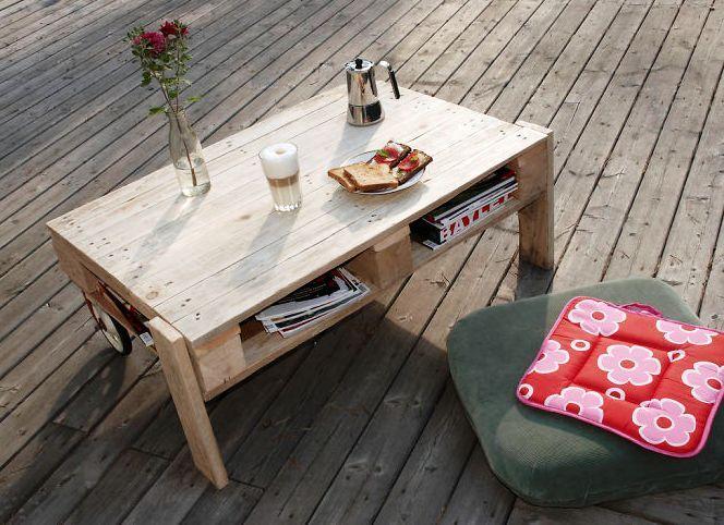 Mesa para el café